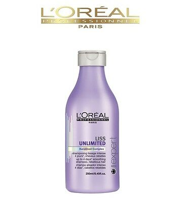 Loreal Serie Expert Liss Unlimited For Rebellious Hair Smooth Shampoo-250Ml