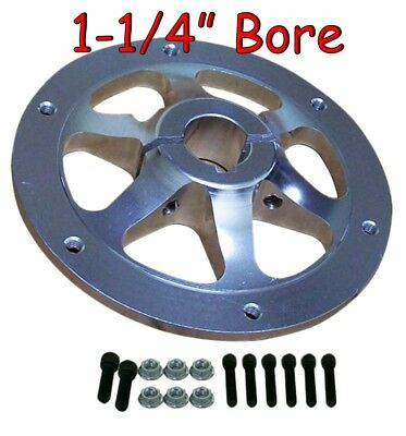 "HEAVY DUTY Sprocket Hub 1-1/4"" Bore Go Kart Racing Drift Trike Cart Parts"