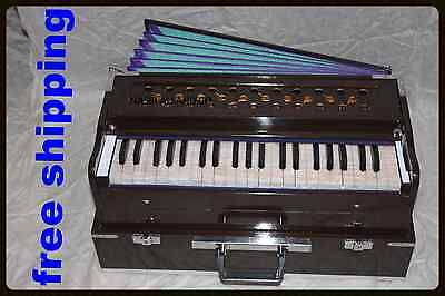 harmonium for sale31/2  OCTAV 7 below 9 stopper 42 keys SHRUTI-440HzGRADE~ OCTAV