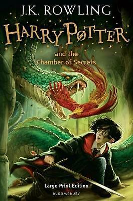 Harry Potter and the Chamber of Secrets by J.K. Rowling Hardcover Book (English)