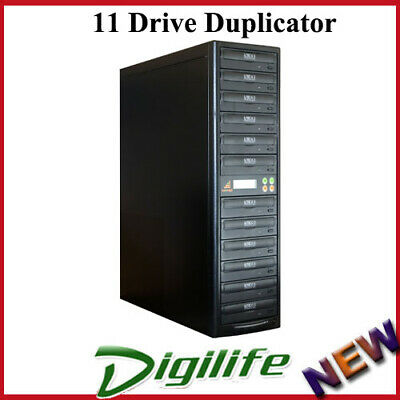 Evocept CopyBlast Ultimate DVD/CD 11 Drive Duplicator Copier Tower with USB Copy