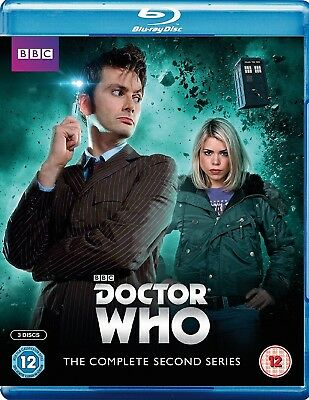 DR WHO 2006 Series 2+2005 CHRISTMAS Doctor David TENNANT Season - RgFree BLU-RAY