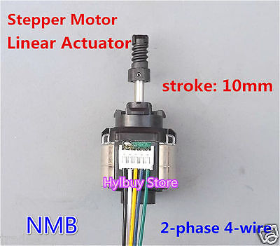 NMB Linear Actuator 2-phase 4-wire Stepper 5V-9V Put Pull Pusher Motor DIY