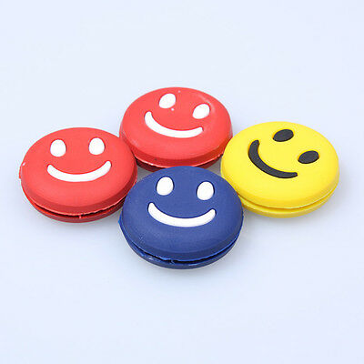 Silicone Smile Face Vibration Dampener Shock Absorber for Tennis Racquet