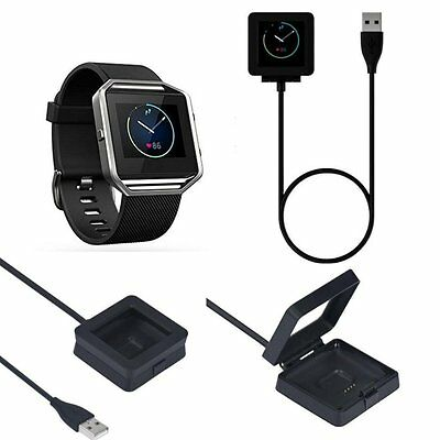 Magnetic USB Charging Dock Charger with Cable For Fitbit Blaze Activity Tracker
