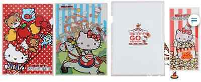 100% New Hello Kitty A4 size Folders (3 in 1 set) with Extra Gift Bag