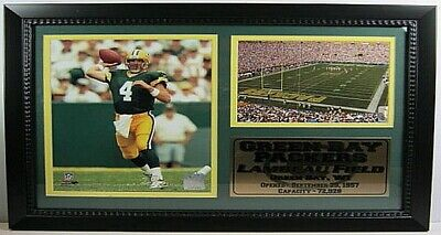 Brett Favre Green Bay Packers NFL Football,50 cm Wandbild,Memorabilia,NEU !!