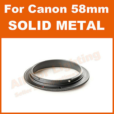 For Canon - 58mm Macro Reverse Adapter Ring Metal