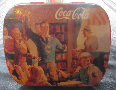 Vintage Coca-cola 1997 Pill case medication Purse Pocket NEW Home Office travel