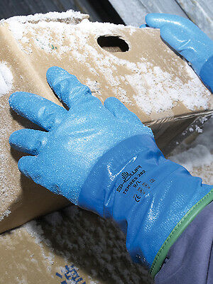 Showa 282 TEMRES Safety Gloves - Waterproof, Breathable & Thermal Insulation