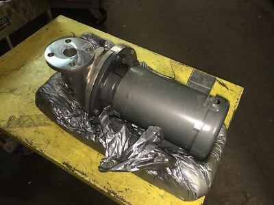 """Ampco Zc2 Stainless Steel Centrifugal Pump 1 1/2"""" X 1 1/4"""" Zc2 1750 Rpm 1Hp"""