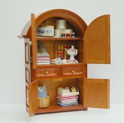 Sewing Cabinet ~ Stunning 1/12th Scale Miniature By Reutter Porzellan!!