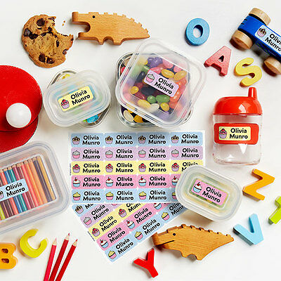 Personalized Durable Waterproof Original Name Labels for Kids