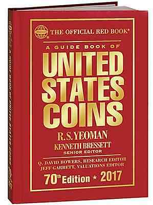 2017 IN STOCK NOW! Hard Cover Red Book US Coin Guide *Free Shipping*