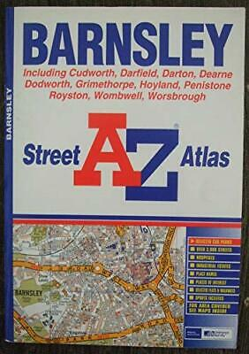 A-Z Barnsley Street Atlas (Street Maps & Atlases) by Great Britain Paperback The