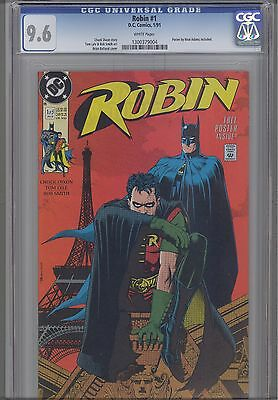 Robin #1  CGC 9.6 1991 DC  Comic: Batman on Cover too