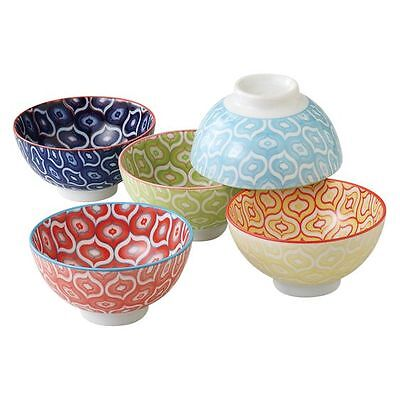 NEW Mino Japan Japanese Ceramics Bowl, 11.5cm (Set of 5)