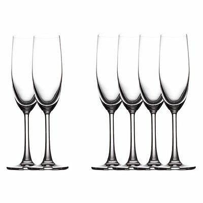 NEW Maxwell & Williams Cosmopolitan Champagne Flute, 160ml (Set of 6)
