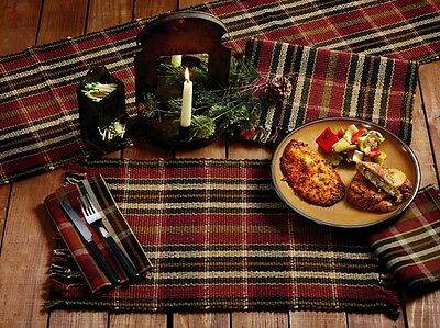Exceptionnel MONTANA PLAID Table Linens, Choose Napkins, Placemats, Or Runner, By IHF