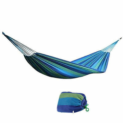 Huge Double 2 Person Cotton Fabric Hammock Air Swing Chair Camping Outdoor 200cm