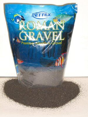 Pettex Roman Gravel Black Sand 8 Kg Pet Supplies New