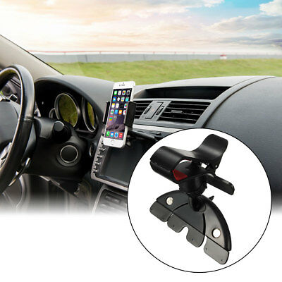 Universal Car CD Slot Mobile Phone GPS Sat Nav Stand Holder Mount For iPhone 7
