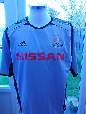 "Yokohama F- Marinos 2005,"" Adidas Sample Shirt -Not For Resale"" Mega rare item"