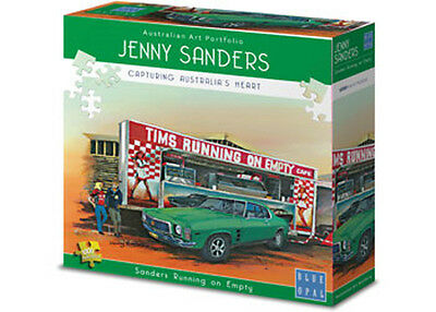 Blue Opal Jigsaw Puzzles Deluxe 1000 Piece HOLDEN RUNNING ON EMPTY Jenny Sanders