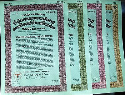 Austria. Government bond FV 1000 Crowns issued in 1917