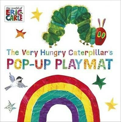 The Very Hungry Caterpillar's Pop-Up Playmat by Eric Carle Board Books Book