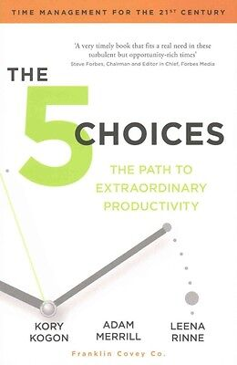 The 5 Choices by Kory Kogan Paperback Book