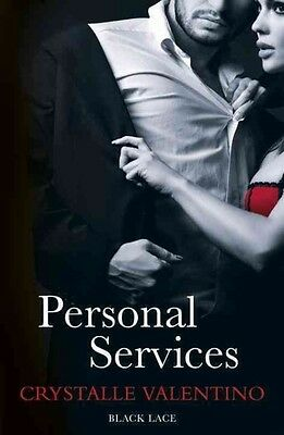 Personal Services: Black Lace Classics by Crystalle Valentino Paperback Book