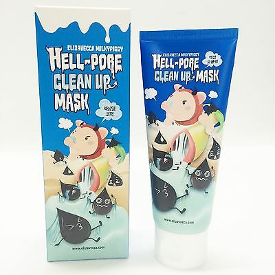 [Elizavecca] Hell-Pore Clean Up Mask 100ml Nose Pack Mask Liquid Type