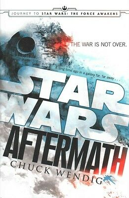 Star Wars: Aftermath by Chuck Wendig Hardcover Book