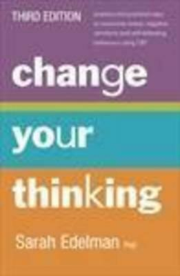 Change Your Thinking by Sarah Edelman Paperback Book Free Shipping!