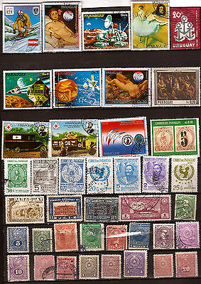 PARAGUAY  41 timbres usages courants ,sujets divers F276