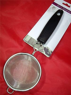 8Cm Small Kitchen Strainer Stainless Steel Wire Mesh Sieve With Handle Tea
