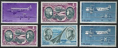 Timbres France PA n° 44,47,57,59 X 6 NEUFS LUXE **