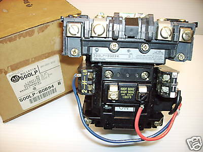 NEW ALLEN BRADLEY 500LP-BOB94 AC LIGHTING CONTACTOR 500LP-B0B94 30-Amp  NIB