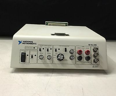 National Instruments NI ELVIS Protyping Console/Platform (No Prototyping Board)