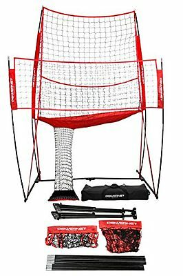 Professional Sturdy Volleyball Practice Net Station