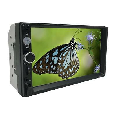 "7"" 2 DIN HD Car Radio MP5 Multimedia Player Bluetooth FM + HD Rearview Camera"