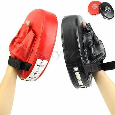 Boxing Mitts MMA Target Focus Punch Pad Training Glove Karate Thai Kick Muay