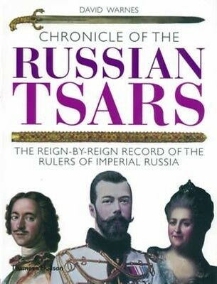 Chronicle of the Russian Tsars by David Warnes Paperback Book (English)