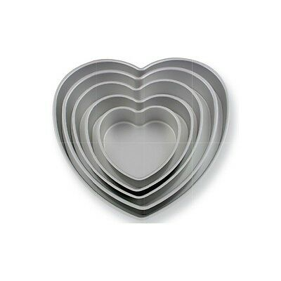 "PME Heart Love Valentines Mould Cake Cooking Baking Tin Pan Tray 6 x 3 "" Inch"