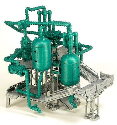 Chemical Plant plastic terrain set main pipes sprue
