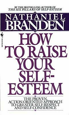 How to Raise Your Self-esteem, Branden, Nathaniel Paperback Book The Cheap Fast