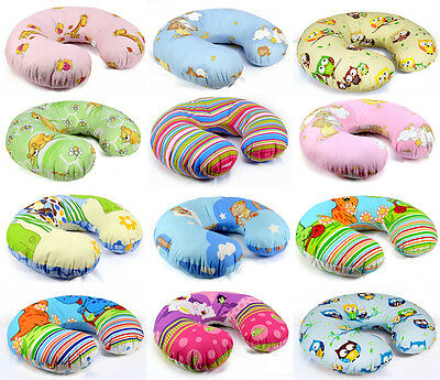 Baby Feeding Pillow Cushion Support Pregnancy Maternity + Removable Cotton Cover