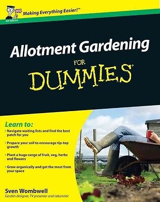 Allotment Gardening For Dummies by Sven Wombwell Paperback Book (English)
