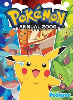 Pokemon Annual 2006 Hardback Book The Cheap Fast Free Post
